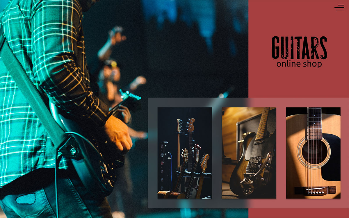 Guitars Online Shop